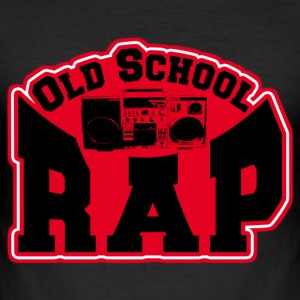old school rap T-Shirts - Men's Slim Fit T-Shirt