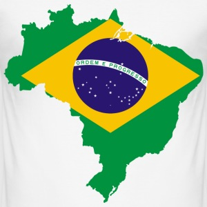 Brazilie T-shirts - slim fit T-shirt