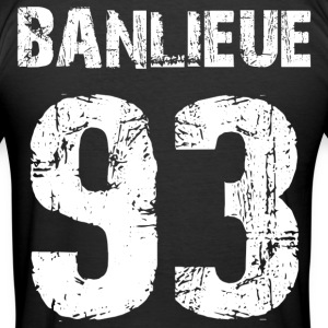 banlieue 93 Tee shirts - Tee shirt près du corps Homme