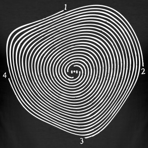 spirale... - Männer Slim Fit T-Shirt