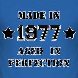 Made in 1977 T-shirts - Slim Fit T-shirt herr
