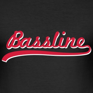 Bassline / Dubstep / Techno / Bass  T-shirts - slim fit T-shirt