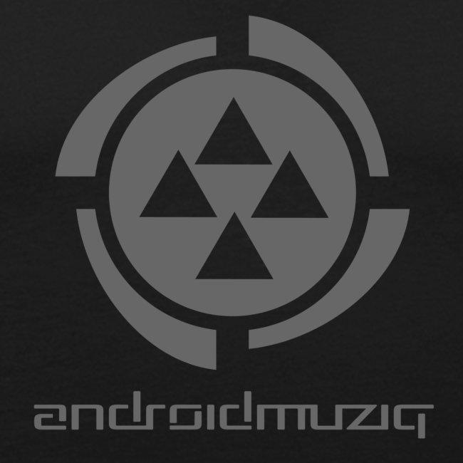 Android Muziq - Dark Grey logo on Yellow