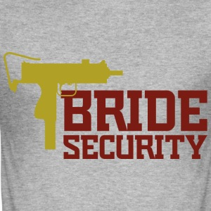 Bride Security 2 (dd)++ T-Shirts - Men's Slim Fit T-Shirt