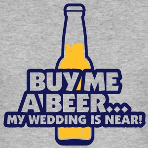 Buy Me A Beer 2 (2c)++ T-shirts - Slim Fit T-shirt herr