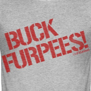 Buck Furpees! - Men's Slim Fit T-Shirt
