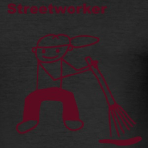Streetworker T-Shirts - Tee shirt près du corps Homme