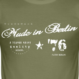 Made in Berlin - Männer Slim Fit T-Shirt