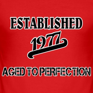 Established 1977 T-skjorter - Slim Fit T-skjorte for menn
