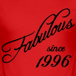 Fabulous since 1996 T-Shirts - Men's Slim Fit T-Shirt