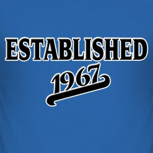 Established 1967 T-shirts - Slim Fit T-shirt herr
