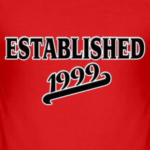 Established 1999 Camisetas - Camiseta ajustada hombre