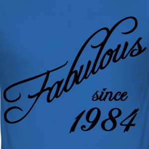 Fabulous since 1984 T-Shirts - Men's Slim Fit T-Shirt