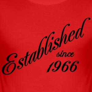 Established since 1966 Tee shirts - Tee shirt près du corps Homme