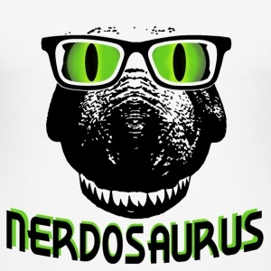 Nerdosaurus T-Shirts - Men's Slim Fit T-Shirt