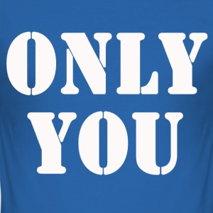 ONLY YOU T-shirts - Herre Slim Fit T-Shirt