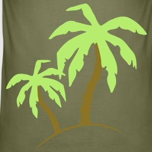 Palm Beach holiday sand solen 2 c. T-skjorter - Slim Fit T-skjorte for menn