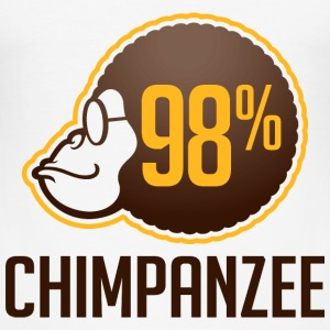 98 Chimpanzee (dd)++2012 T-Shirts - Men's Slim Fit T-Shirt