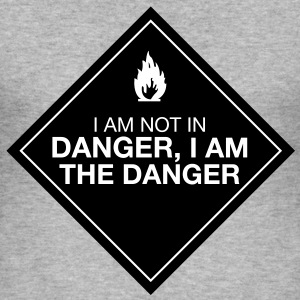 I am the danger - Tee shirt près du corps Homme