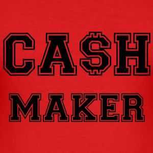 Cash Maker T-Shirts - Männer Slim Fit T-Shirt