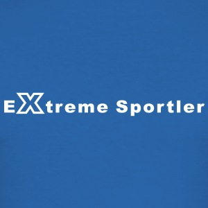 Extreme Sportler T-Shirts - Männer Slim Fit T-Shirt