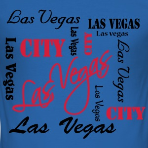 Las Vegas T-shirts - Slim Fit T-shirt herr