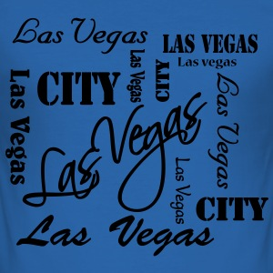 Las Vegas T-Shirts - Männer Slim Fit T-Shirt