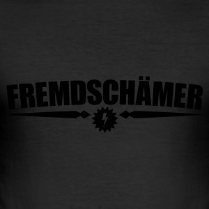 Fremdschämer (normal) T-Shirts - Männer Slim Fit T-Shirt