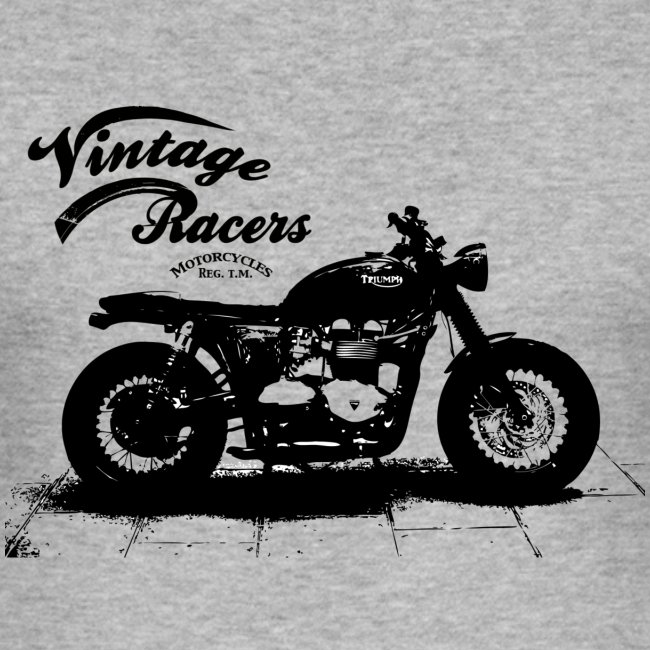 Dark Cafe Racer T-shirt grey