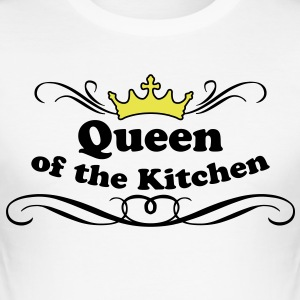 Queen of the Kitchen T-shirts - Herre Slim Fit T-Shirt