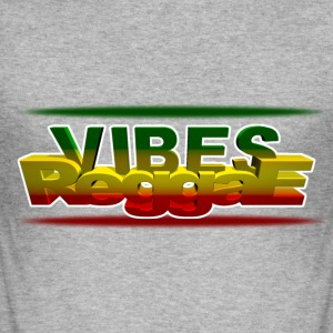 vibes reggae T-Shirts - Men's Slim Fit T-Shirt