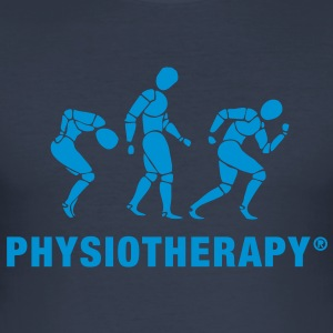 Three Physiotherapists T-Shirts - Men's Slim Fit T-Shirt