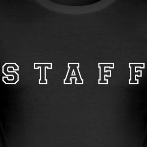 Staff T-Shirts - Männer Slim Fit T-Shirt