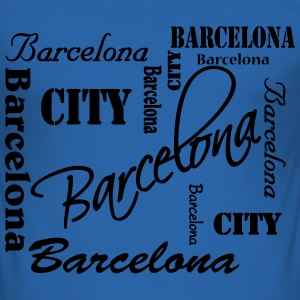Barcelona T-Shirts - Männer Slim Fit T-Shirt