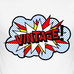 Vintageness 06 T-Shirts - Men's Slim Fit T-Shirt