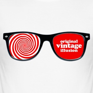 Vintage icons 01 - X-Ray specs T-Shirts - Men's Slim Fit T-Shirt