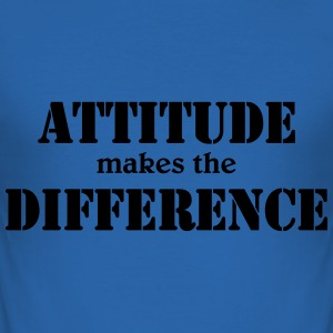 Attitude makes the difference Tee shirts - Tee shirt près du corps Homme