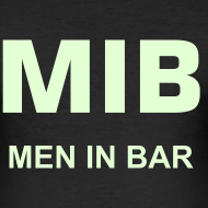 Motif ~ T-shirt Men In Bar phosphorescent