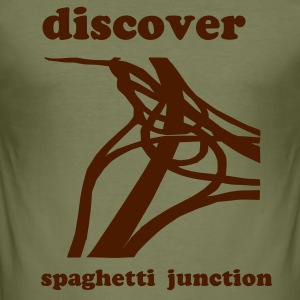 Spaghetti Junction - Men's Slim Fit T-Shirt