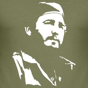 Fidel Castro T-Shirts - Männer Slim Fit T-Shirt