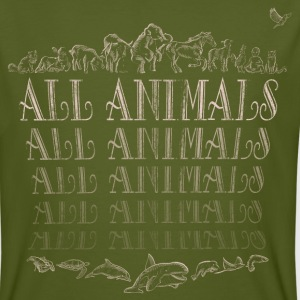 All Animals Tee shirts - T-shirt bio Homme
