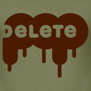delete POP - Männer Slim Fit T-Shirt