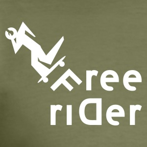 freerider - Männer Slim Fit T-Shirt
