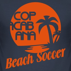 BEACH SOCCER @ COPACABANA - Slim Fit T-skjorte for menn