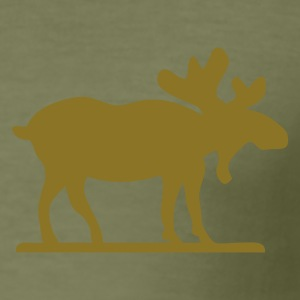 There is always Moose - Slim Fit T-skjorte for menn