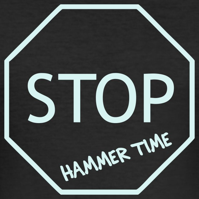 Hammer Time Clubbing Shirt (reflective)