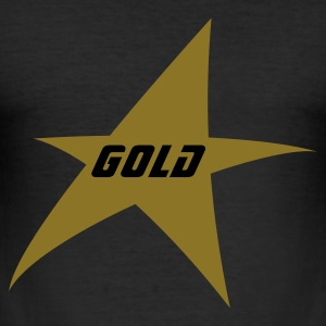 Gold star - slim fit T-shirt