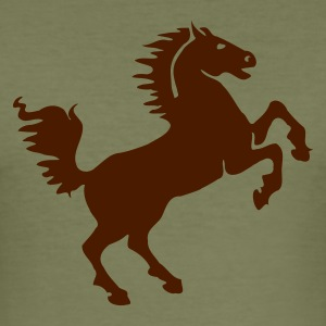 Kamel Horse T-shirt - Slim Fit T-shirt herr