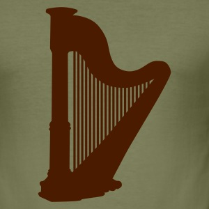Kamel The Harp T-shirt - Slim Fit T-shirt herr