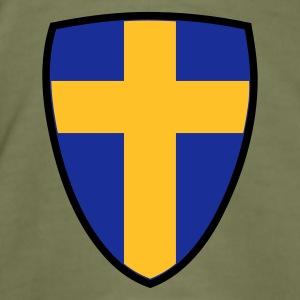 Camel Shield of Sweden Hommes - Tee shirt près du corps Homme